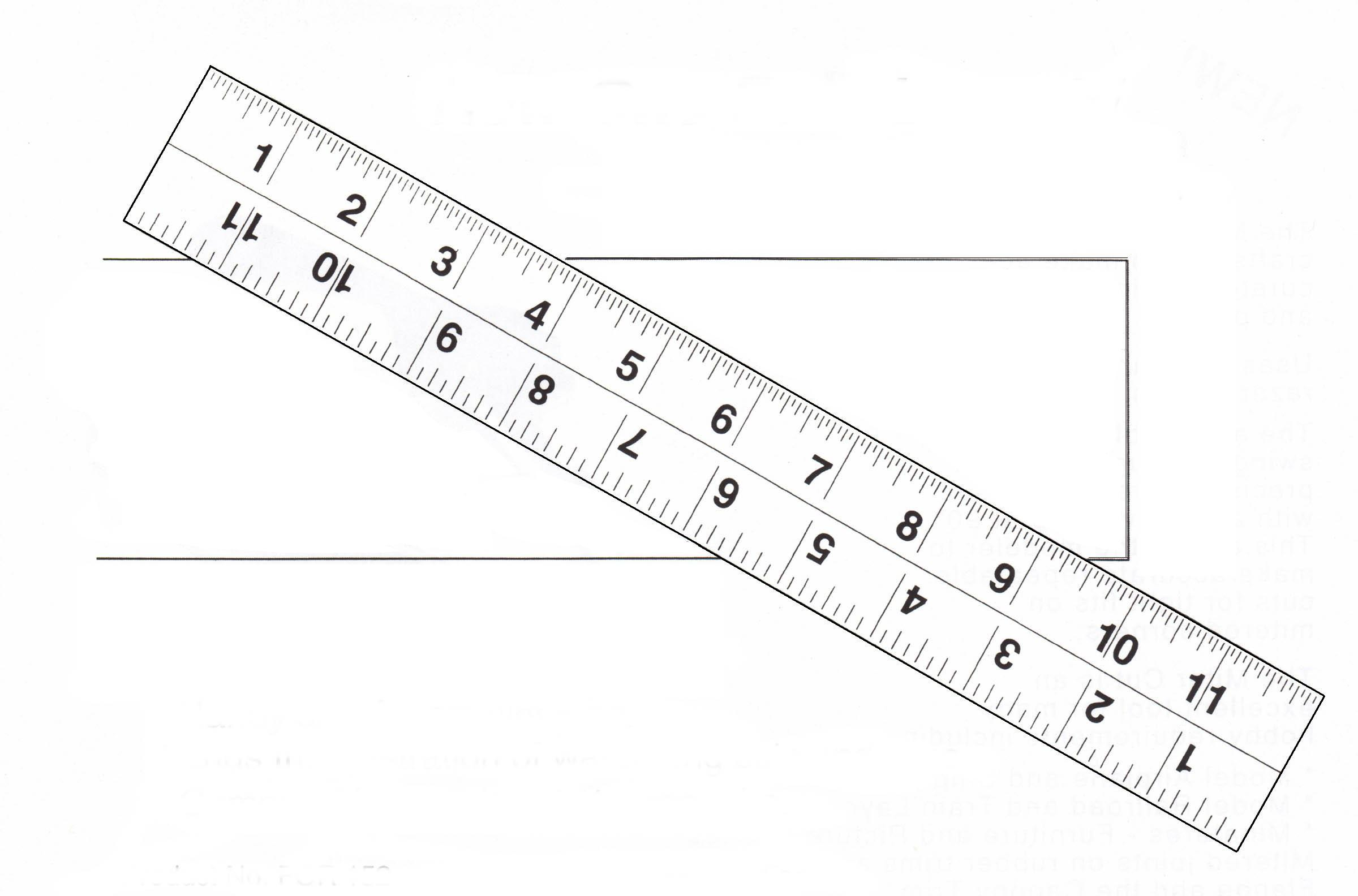 Film & Fabric Ruler #156